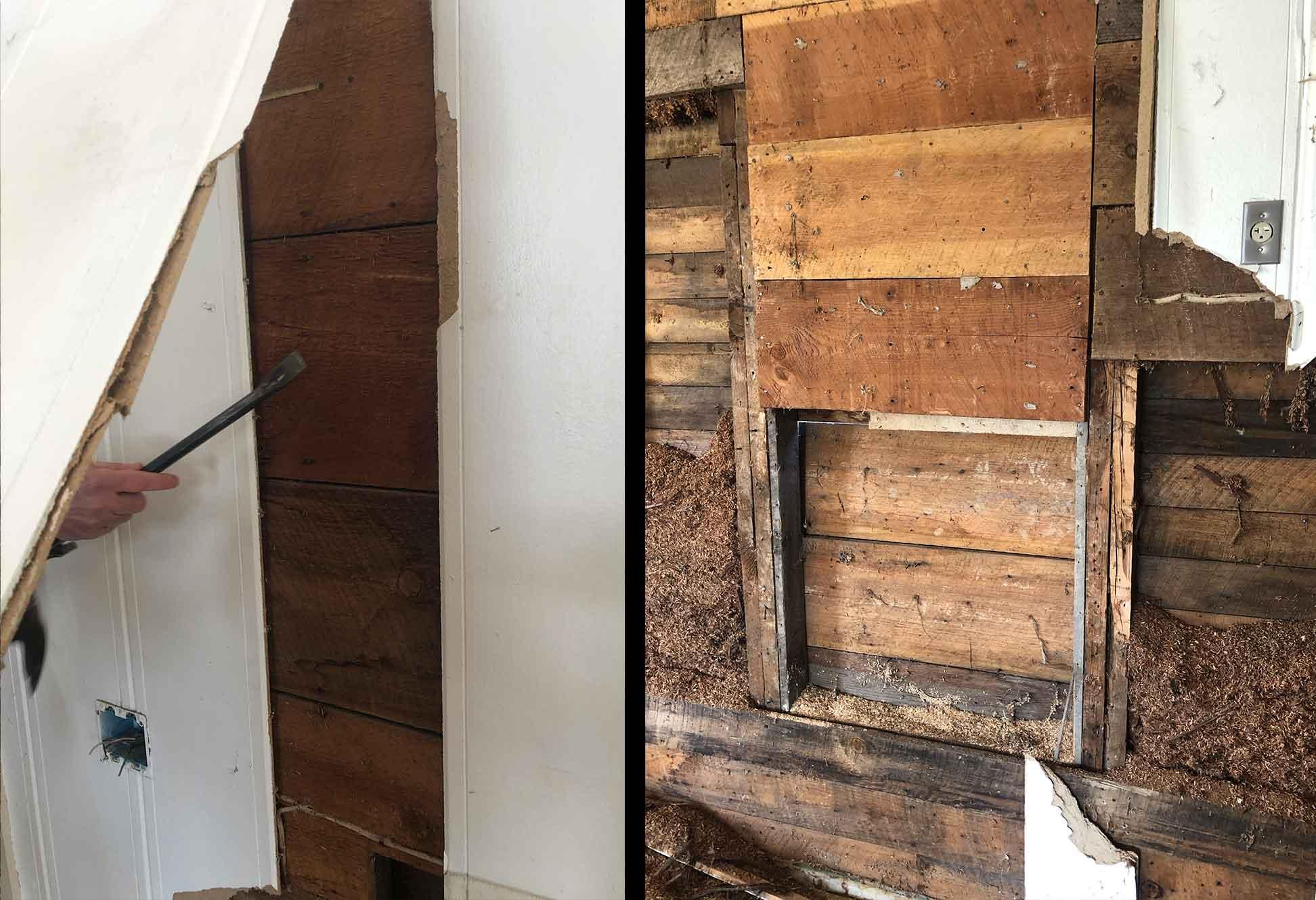 The Tilted Barn - Elsasser Home Walls