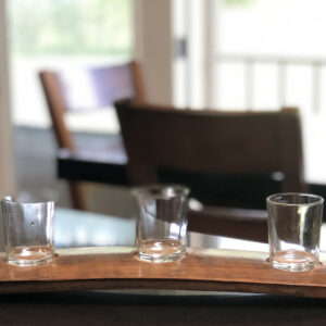 The Tilted Barn Wine Stave Candle Holder