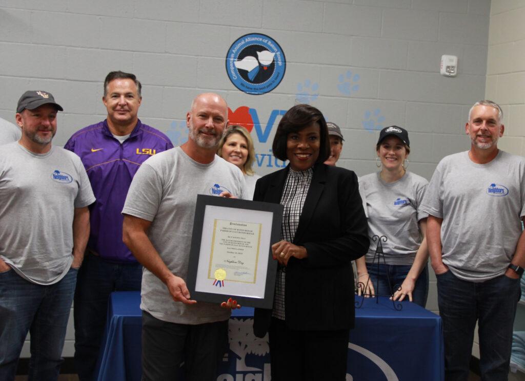 Mayor Sharon Weston Broome declares Neighbors Day