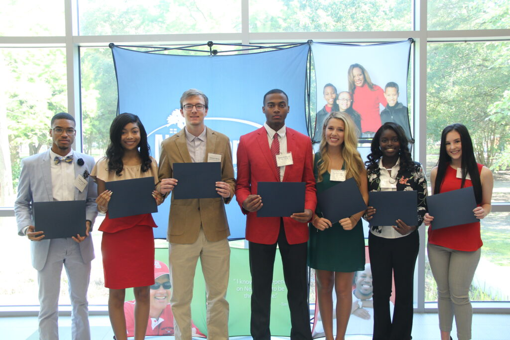Recipients of Neighbors Way Tuition Awards