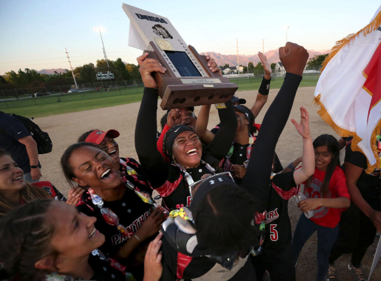 West Claims First Softball State Championship