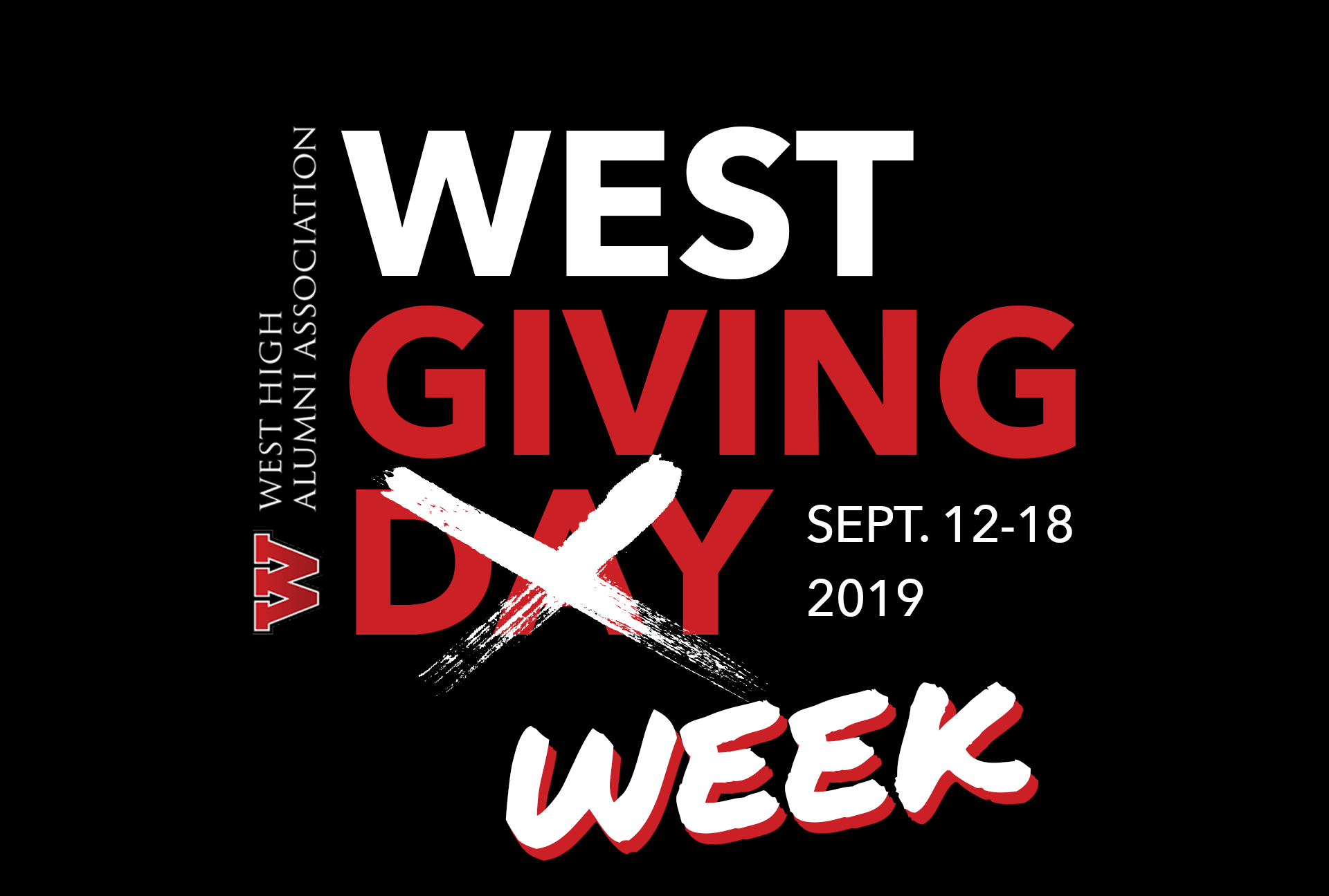 West Giving Day is Now Giving Week!