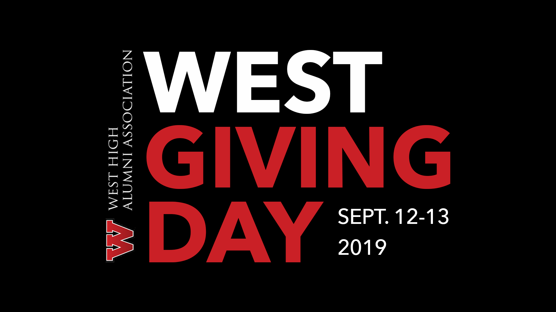 West High Giving Day is Here!