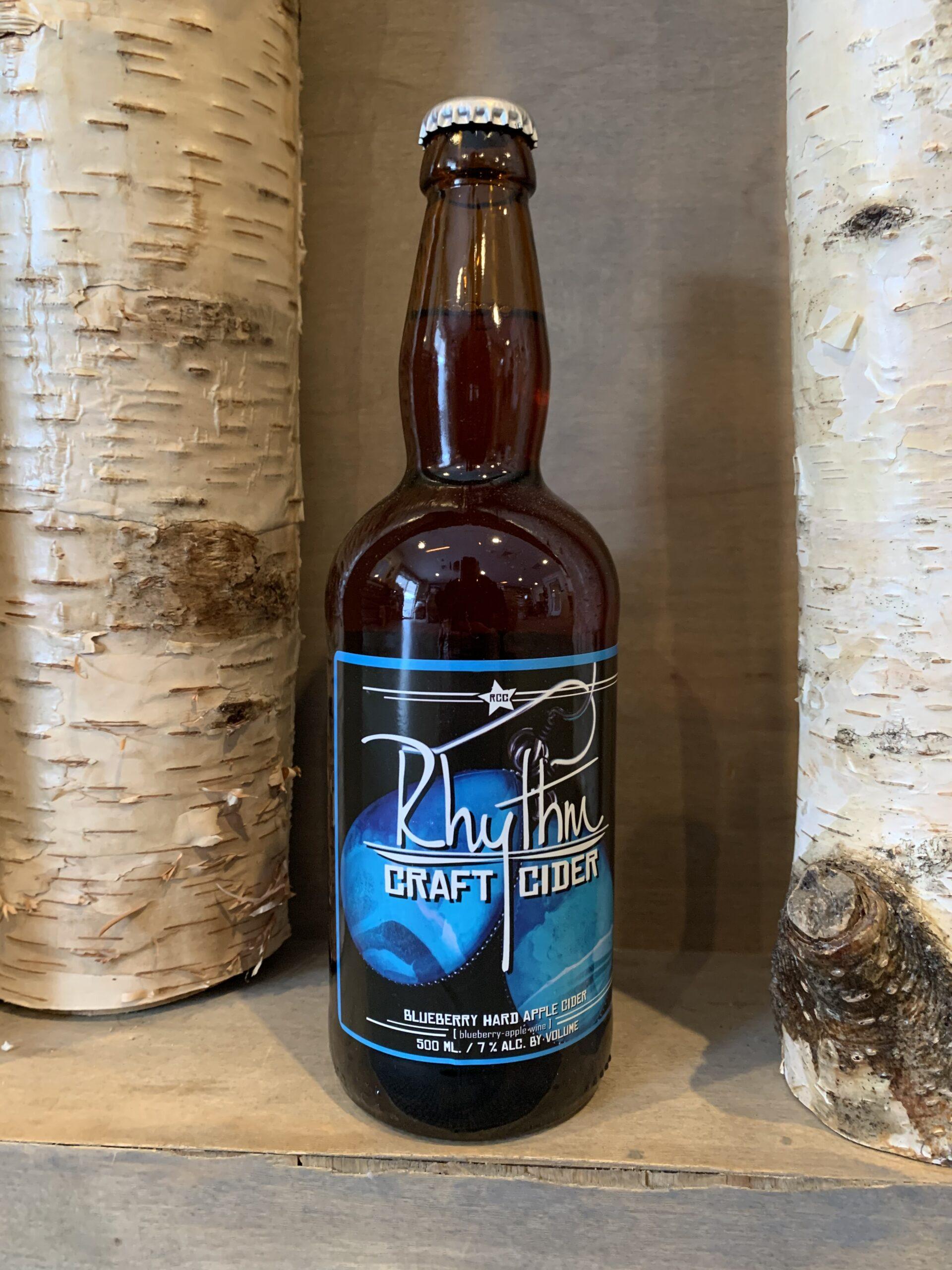 Blueberry Hard Cider Bottle 2