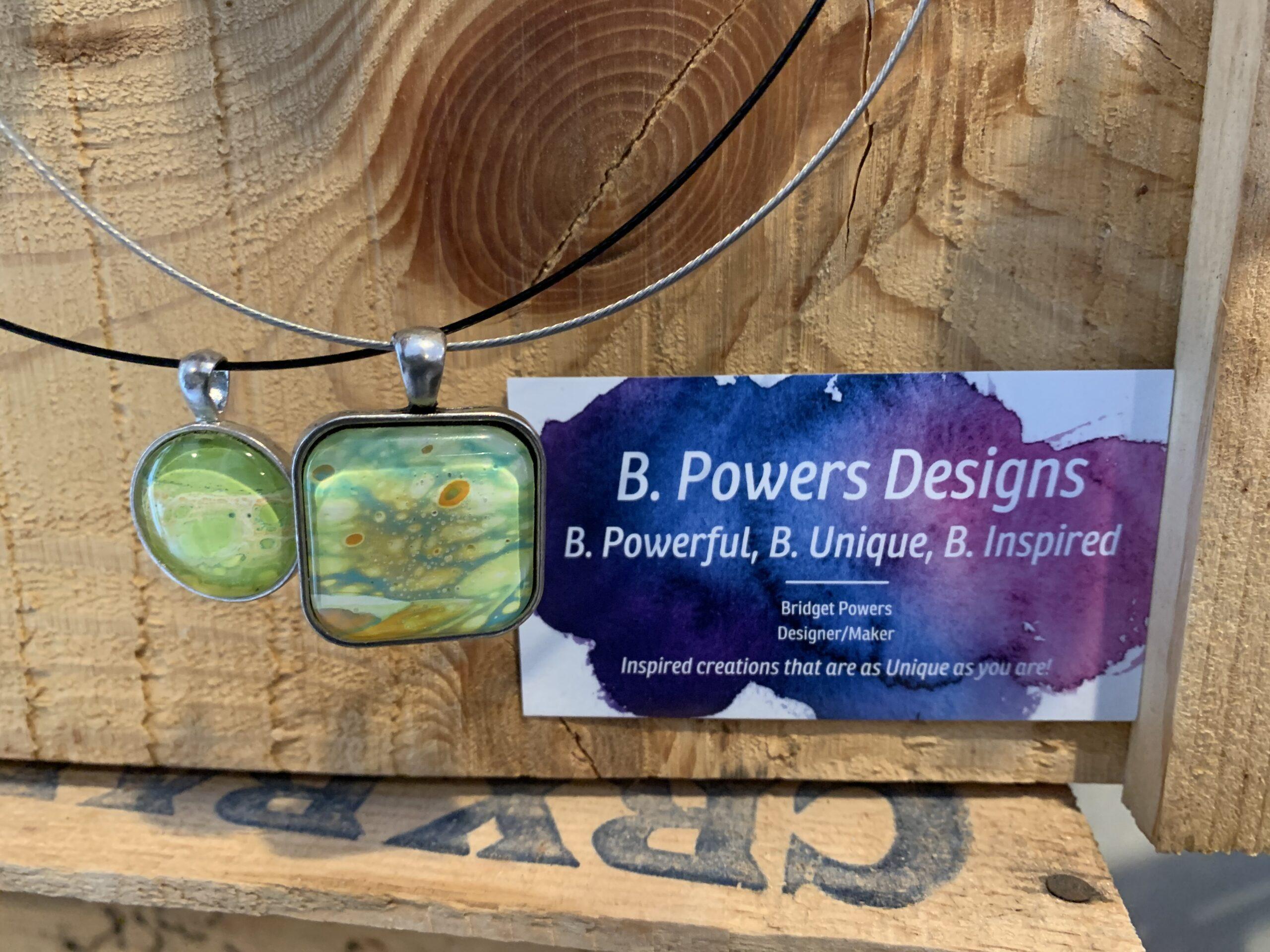 B Powers Card