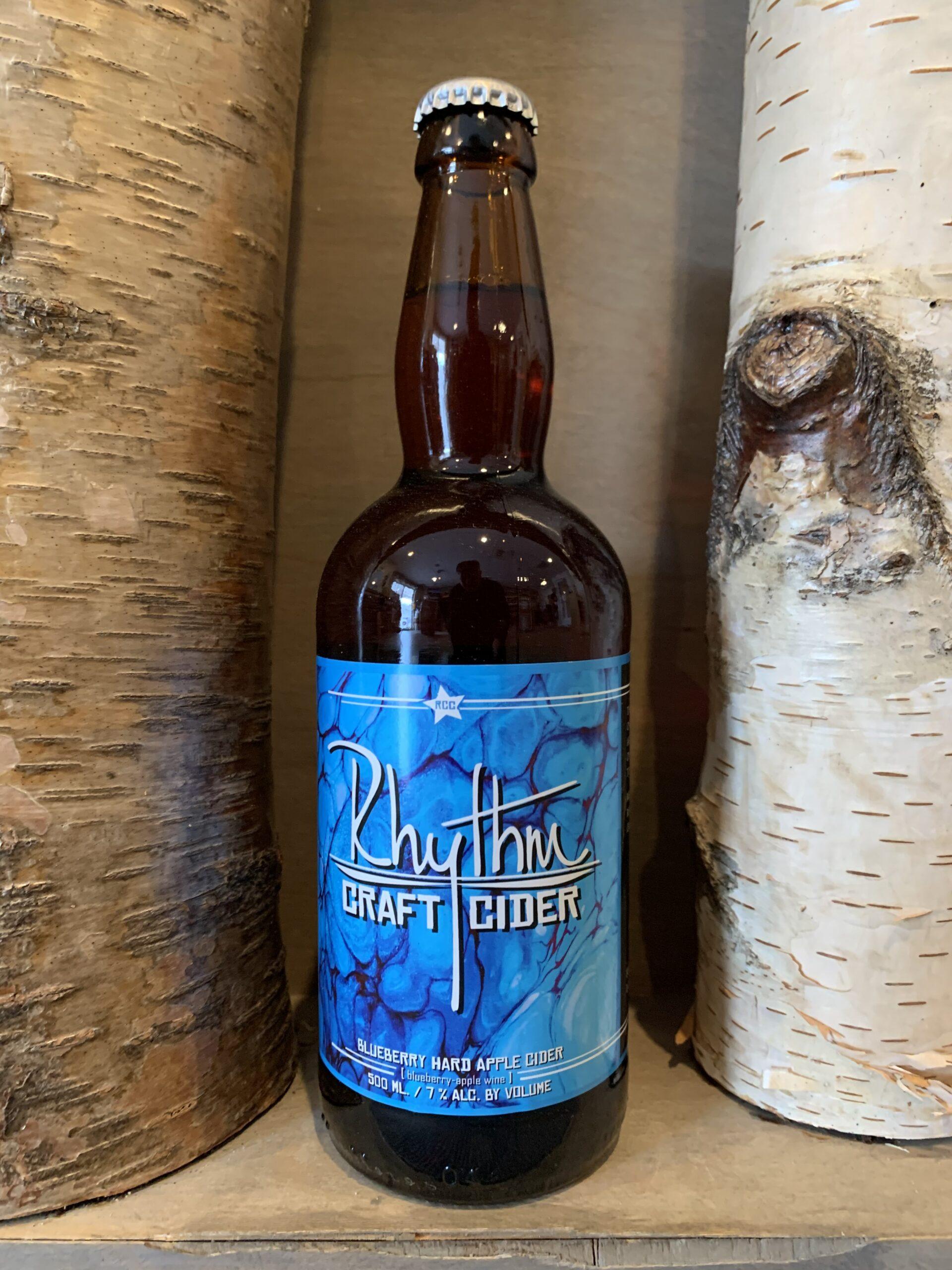 Blueberry Hard Cider Bottle 3