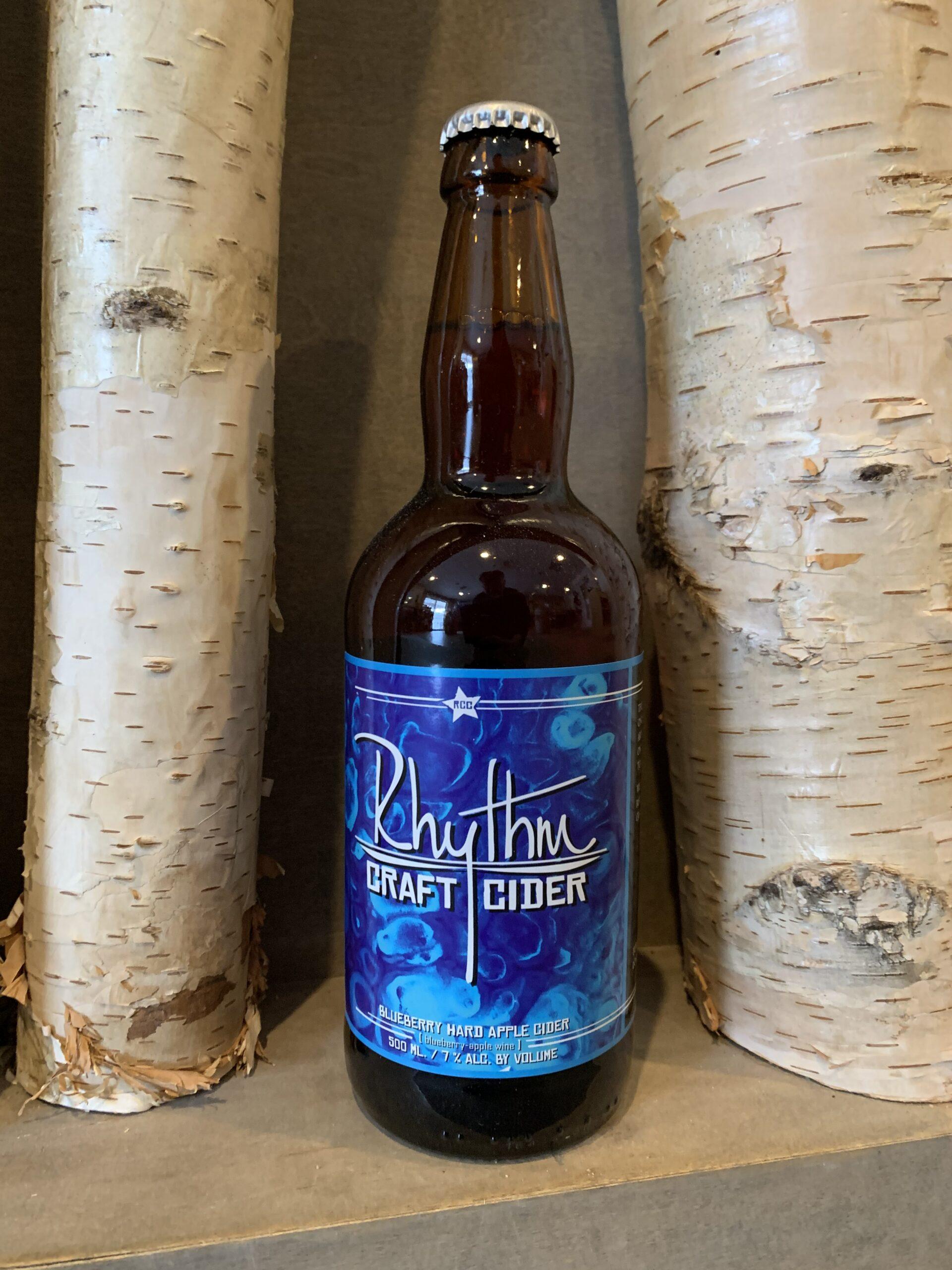 Blueberry Hard Cider Bottle 1