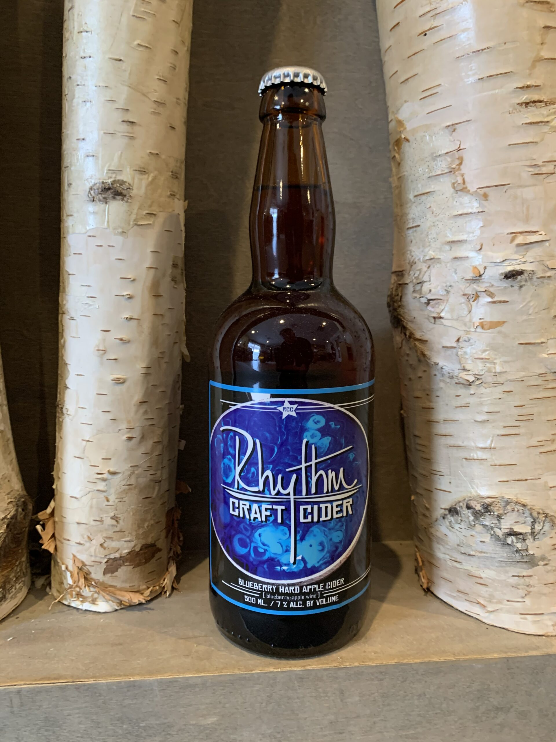 Blueberry Hard Cider Bottle 4