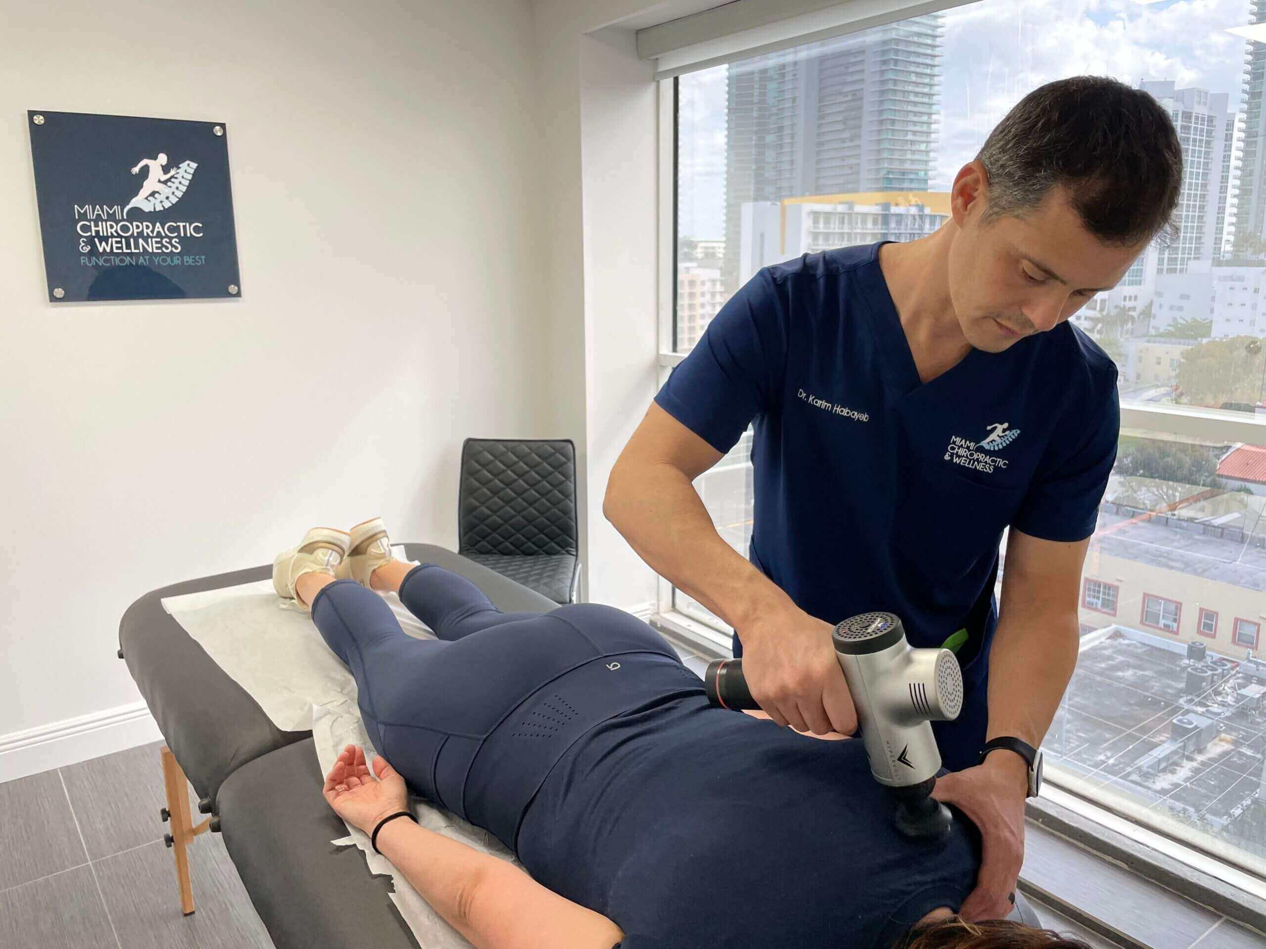 miami chiropractic wellness - treatments