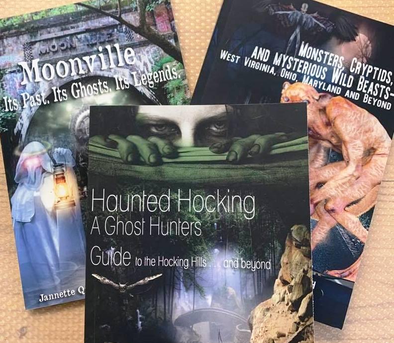 Haunted Hocking Hills Books