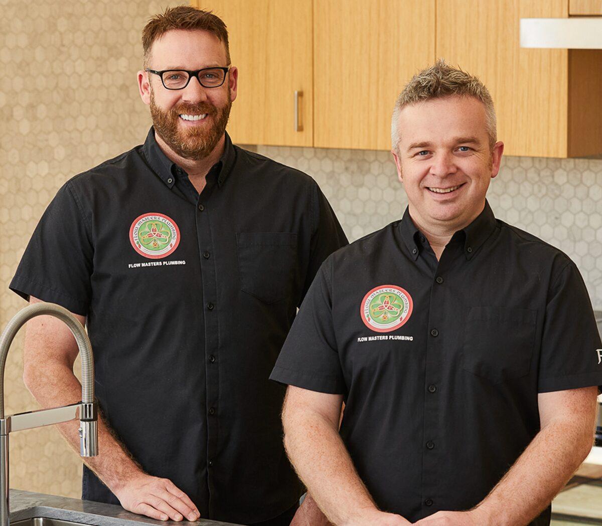 FMP co-owners Alan Moran and Fergal McMahon