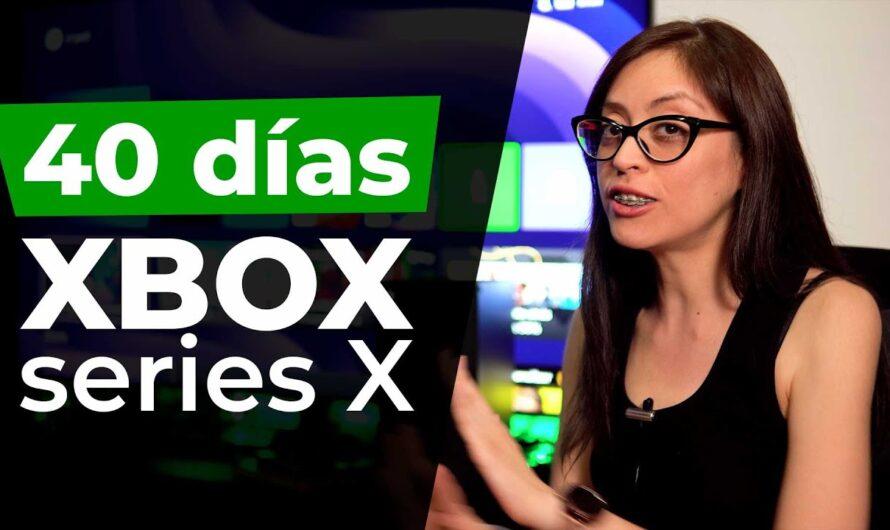 40 días con la XBOX series X