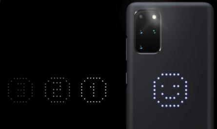 Smart LED Cover de Samsung
