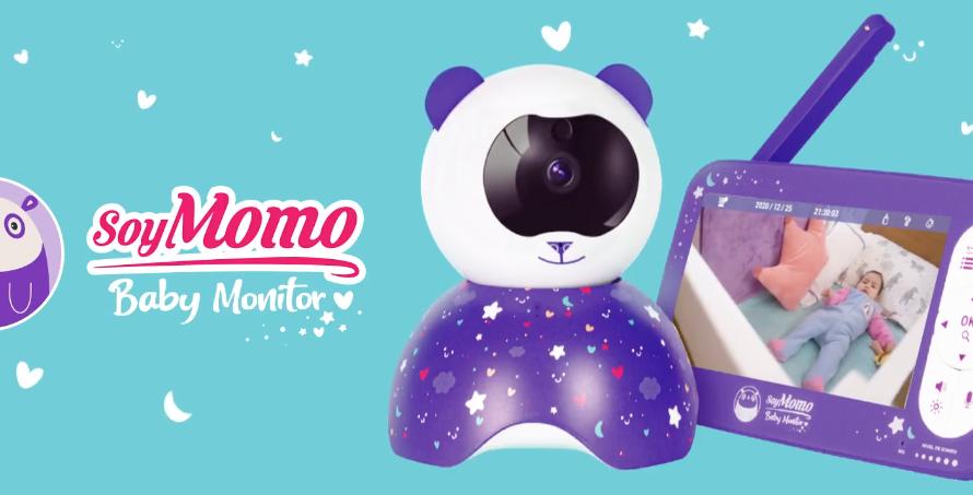 El monitor de bebés con mayor alcance del mercado lo tiene SoyMomo, conoce como funciona y sus características