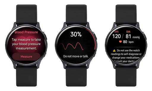 Actualización del Samsung Galaxy Watch3 y al Watch Active2 permite realizar ECG y medir presión arterial