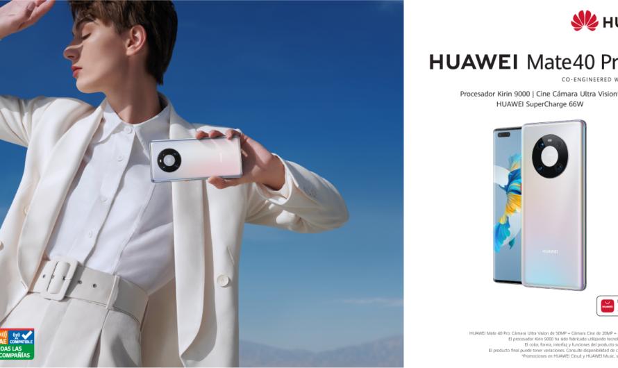 Llega a Chile el nuevo HUAWEI Mate 40 Pro: mejores cámaras, más potente, más inteligente y más autonomía