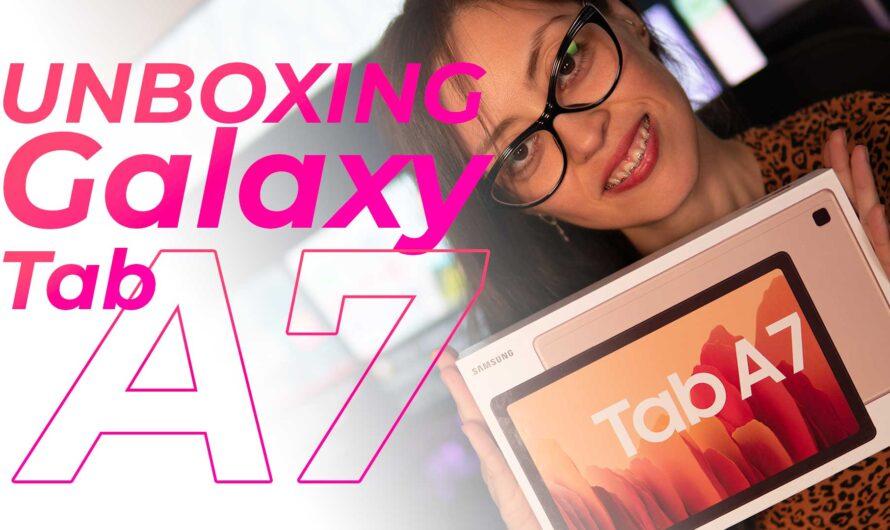 Conozcamos la Galaxy Tab A7 de Samsung