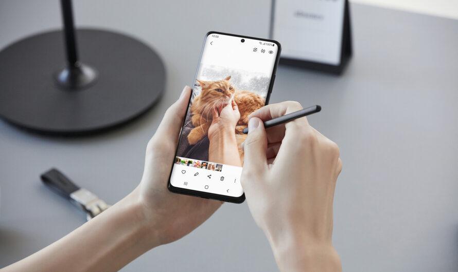 Más productividad con el S Pen y el Galaxy S21 Ultra 5G