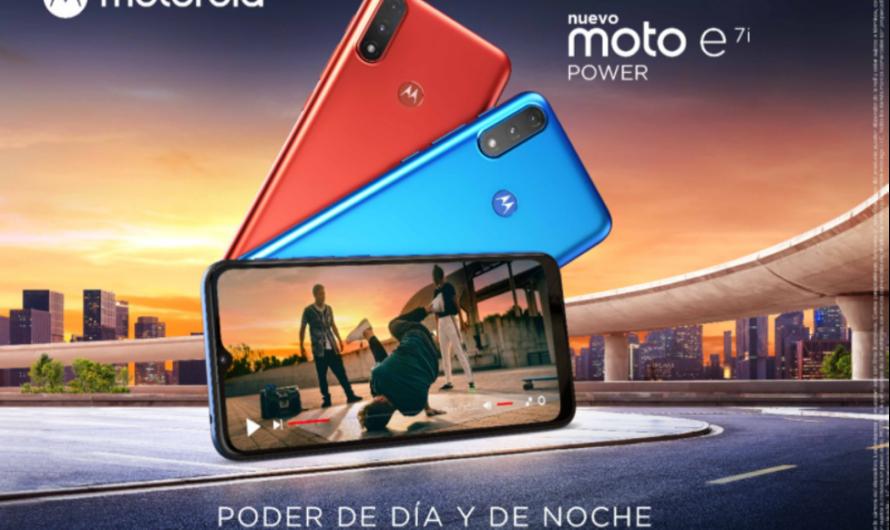 Llega a Chile el nuevo moto e7i power: poder de día y de noche