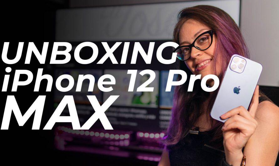 Conoce el Iphone 12 Pro MAX