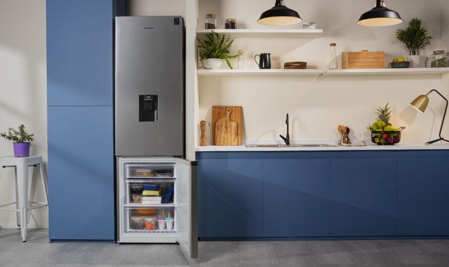 Los renovados refrigeradores Bottom Mount Freezer de Samsung llegan diseñados para maximizar el espacio