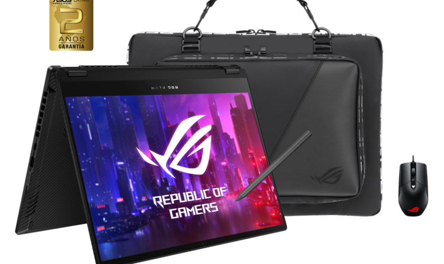 ROG presenta el portátil gamer convertible Flow X13