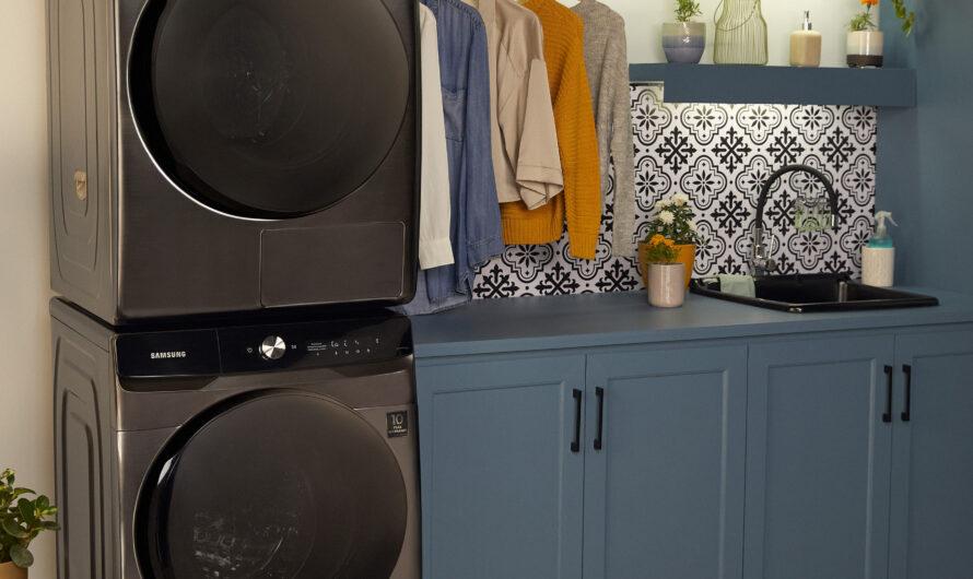 """Lavadora y secadora independiente: Samsung presenta su """"pareja perfecta"""", la nueva forma de lavar inteligente"""
