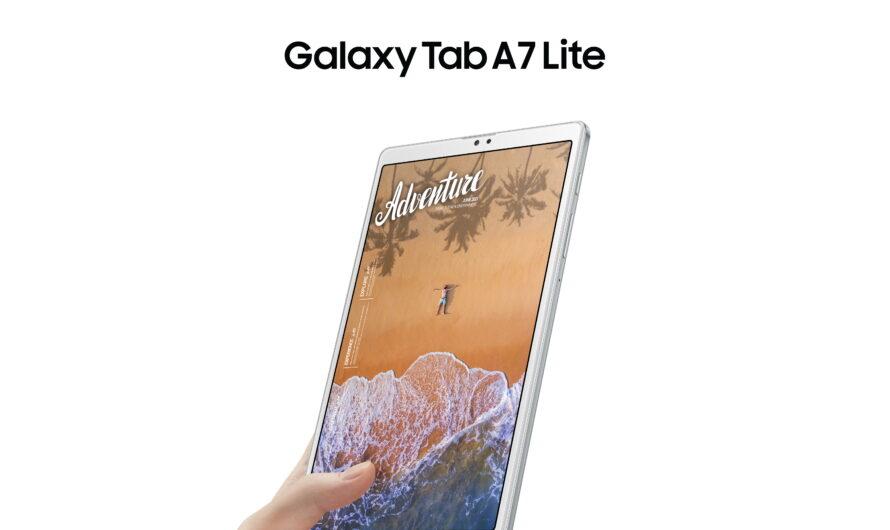 Samsung presenta en Chile su nuevo tablet económico, familiar y extra liviano: conoce el Galaxy Tab A7 Lite