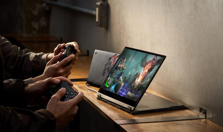 ROG presenta la Laptop Gamer Convertible Flow X13 y la GPU externa XG Mobile