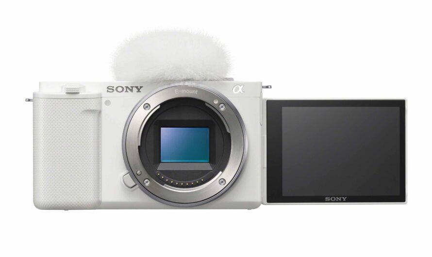 Sony presenta la nueva cámara vlog de lente intercambiable para vloggers y creadores de contenido: ZV-E10