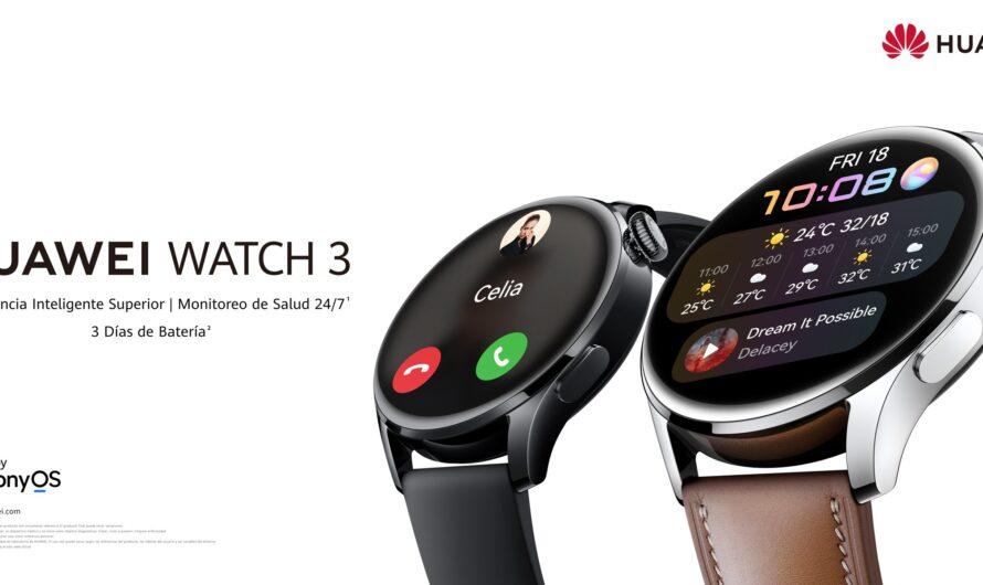 Huawei confirma su próximo lanzamiento: el nuevo reloj Watch 3 llega a Chile