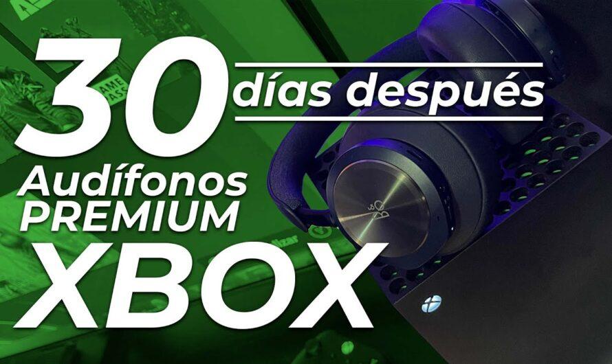 30 días con los Audífonos PREMIUM para XBOX