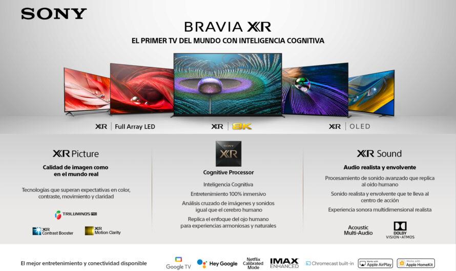 Sony inicia una nueva era de entretenimiento inmersivo en Chile con su reciente línea de televisores BRAVIA XR con inteligencia cognitiva.