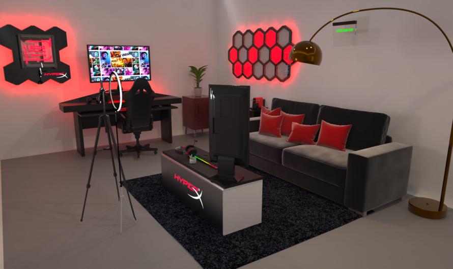 HyperX te regala una Chill Room para que celebres todo el año el día del gamer.