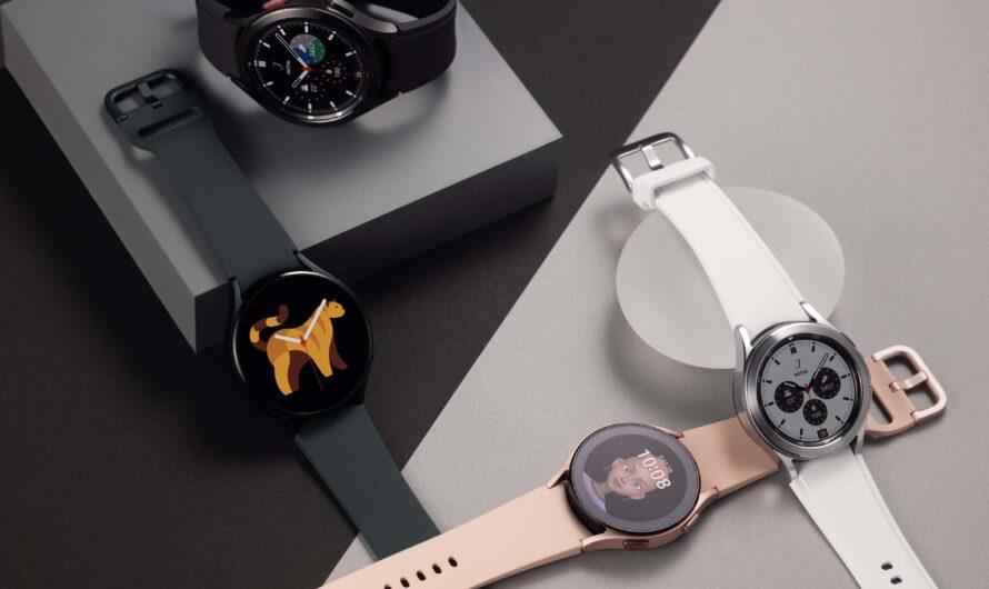 Galaxy Watch4 y Galaxy Watch4 Classic: remodelando la experiencia de reloj inteligente