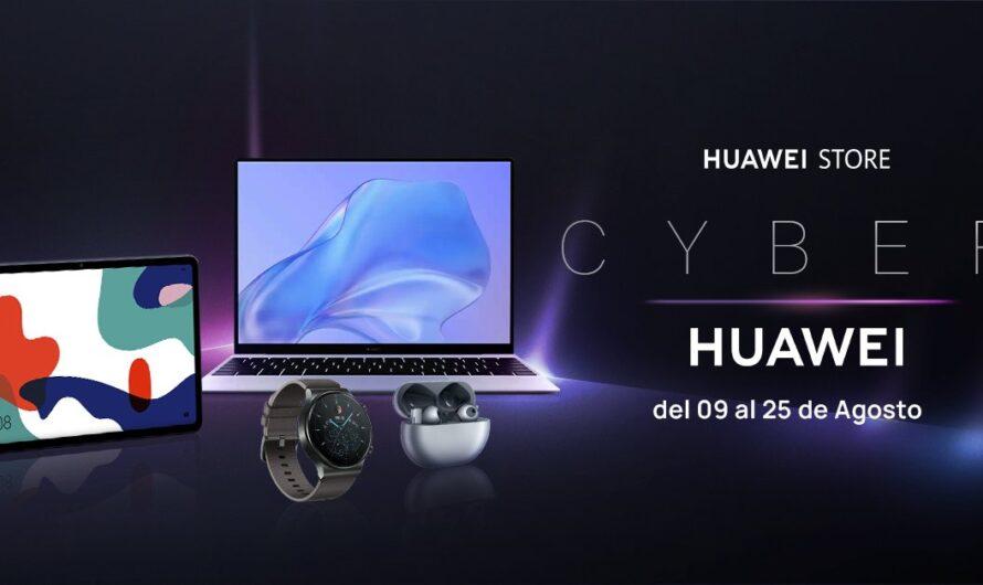 Llegó Cyber Huawei con descuentos por sobre el 45% en productos seleccionados