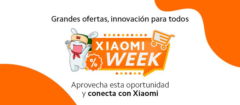 Xiaomi Week presenta increíbles ofertas en telefonía móvil