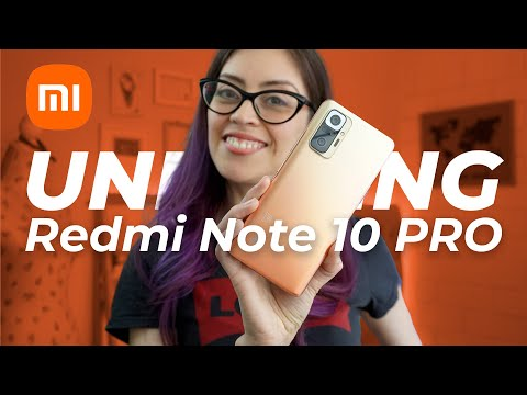 Unboxing Redmi Note10 PRO [Unboxing en Expañol]