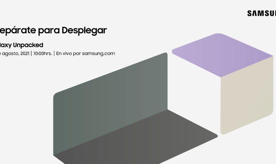 Samsung Galaxy Unpacked 2021: revisa cómo unirte a este evento