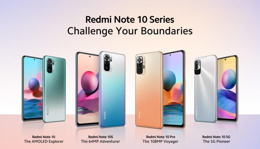 ¿Cuál es tu Redmi Note favorito?Serie Redmi Note 10 para todos los estilos