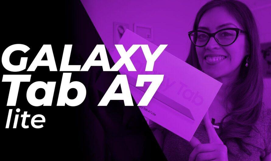 Llegó la Galaxy Tab A7 de Samsung, conoce sus características aquí