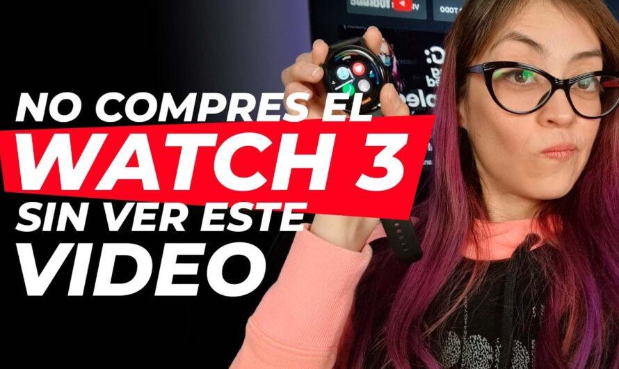 Conoce como funciona Huawei Watch 3, con HarmonyOS, después de 1 mes de uso! [review en español]