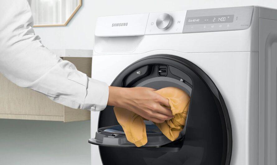 Samsung presenta su renovada línea 2021 de lavadoras secadoras frontales