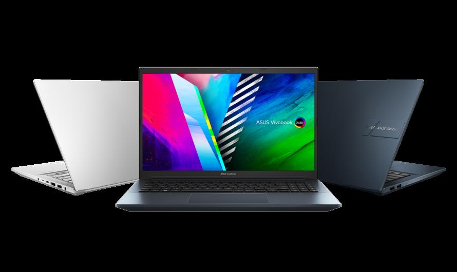 ASUS lanza el portafolio de laptops con pantalla OLED más completo del mundo.