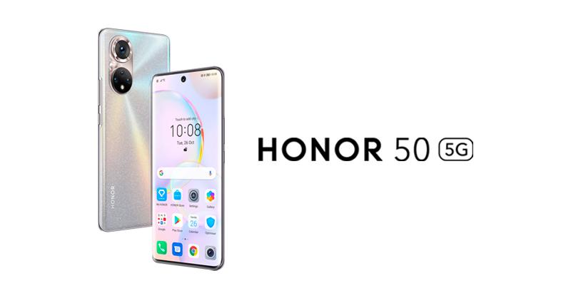 Confirmado: la serie HONOR 50 contará con los Google Mobile Services