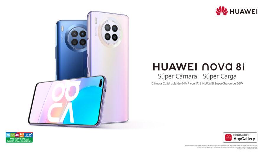 Comenzó la exclusiva preventa del nuevo HUAWEI nova 8i en Chile