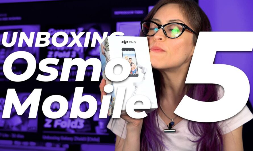 Unboxing Osmo Mobile 5