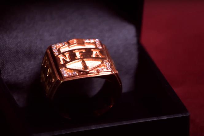 O anel do MVP da NFA