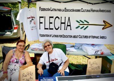 Members at Latin Fest