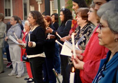 Mothers' Day Candlelight Vigil